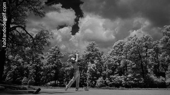 giro caderas golf