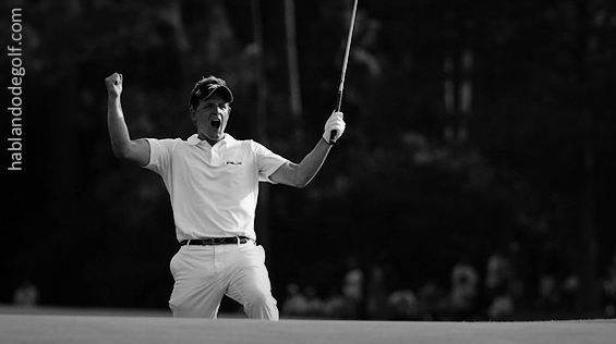 confianza en golf