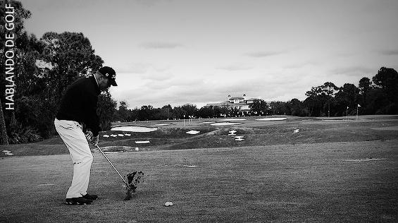 posición golf