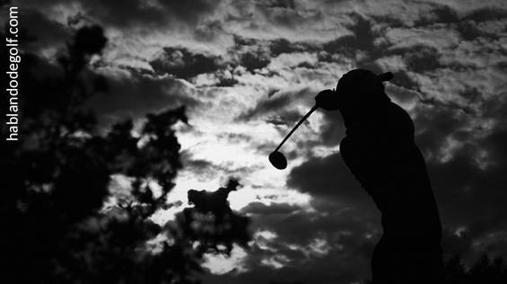 golfista aficionado